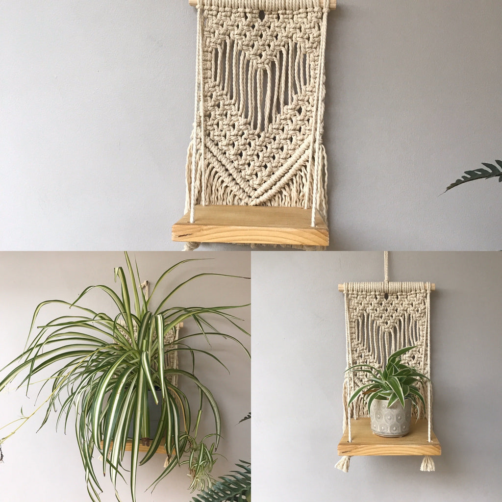 Macrame Wall Shelf Workshop with Sarah Winspear REN Living Sunday 17th May 2020