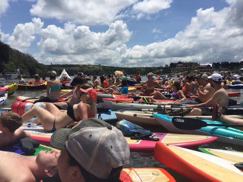 Afternoon SUP Rental - 12:30PM To 7PM