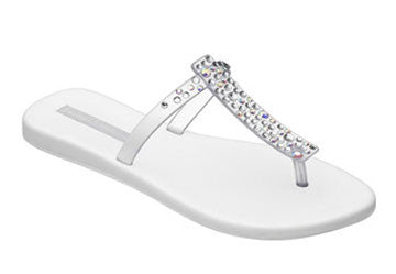 Melissa Sin Sparkle Sandal - Fashion clothes, NYC, designer, [product type] - women's apparel, clothing, accessories, hats, attire, Siren Boutique Siren Boutique