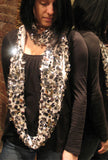 Sequin Cashmere Scarf