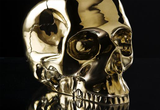 Medium Brass Skull
