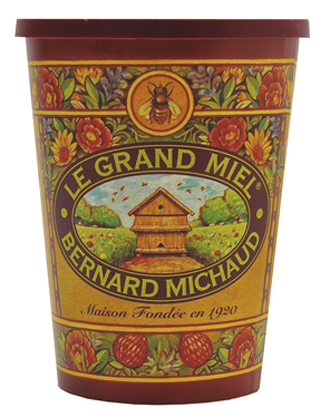 Bernard Michaud 1000 Flowers Honey Pail - Fashion clothes, NYC, designer, [product type] - women's apparel, clothing, accessories, hats, attire, Siren Boutique Siren Boutique