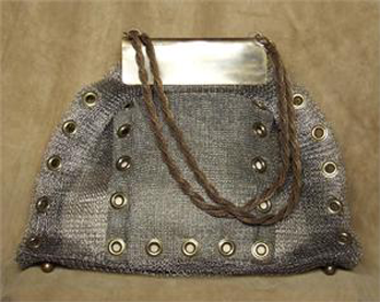 Metal Woven Doctor's Bag