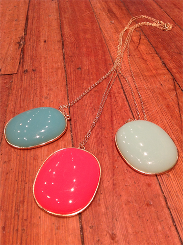 Pendant Necklace Brights