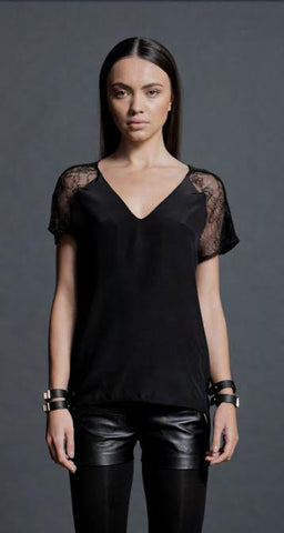 Safi Solid Top Black