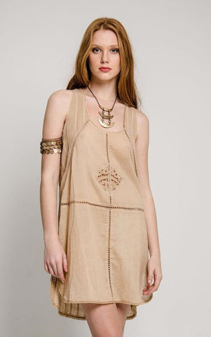 Lilo Laser Cut Racer Back Tunic