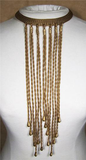 Mesh Rope Chain Necklace - Fashion clothes, NYC, designer, [product type] - women's apparel, clothing, accessories, hats, attire, Siren Boutique Siren Boutique