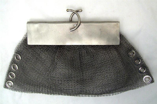 Metal Woven Clutch - Fashion clothes, NYC, designer, [product type] - women's apparel, clothing, accessories, hats, attire, Siren Boutique Siren Boutique