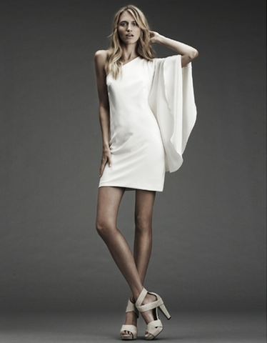 Nicole Miller Short Assymetrical Dress
