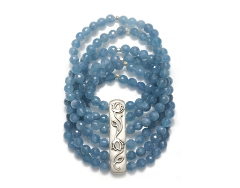 Satya Angelite Layers Bracelet