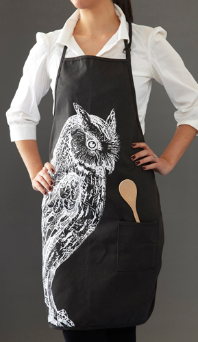Curiosities Apron - Fashion clothes, NYC, designer, [product type] - women's apparel, clothing, accessories, hats, attire, Siren Boutique Siren Boutique