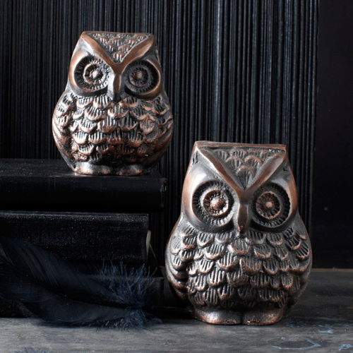 Owl Paperweight - Fashion clothes, NYC, designer, [product type] - women's apparel, clothing, accessories, hats, attire, Siren Boutique Siren Boutique