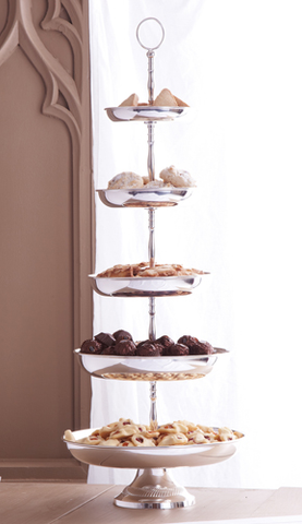 5 Tier Centerpiece Pedestal