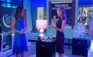 "NBC Today Show ""Snooze You Can Use"" series features Lighting Science's GoodNight LED Lamp"