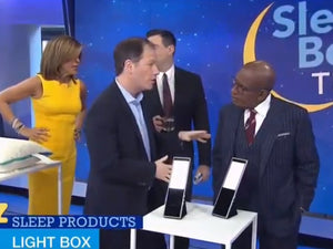 JOURNI™ Mobile Task Light featured on The Today Show with Dr. Michael Breus