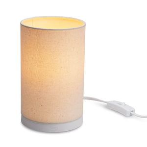 GoodNight® Bedside Table Lamp includes GoodNight® Sleep-Enhancing A19 LED Bulb