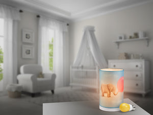 SLEEPY BABY®  |  NURSERY LAMP INCLUDES SLEEPY BABY® SLEEP-ENHANCING LED BULB
