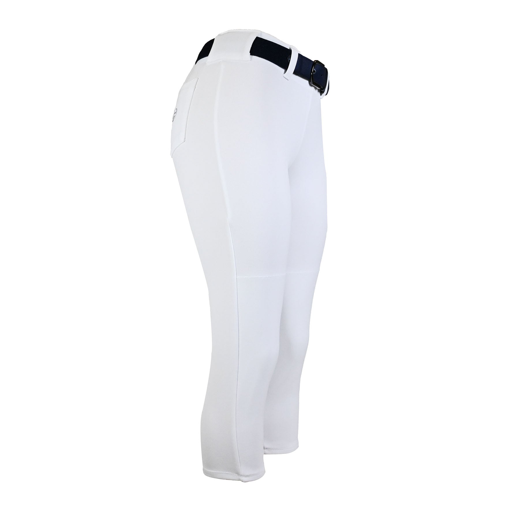 Girls Softball Pants With Belt Loops