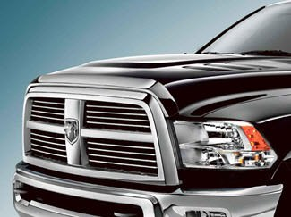 RAM 2500/3500 FRONT AIR DEFLECTOR CHROME