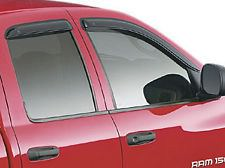RAM SIDE WINDOW AIR DEFLECTORS RAM CREW CAB