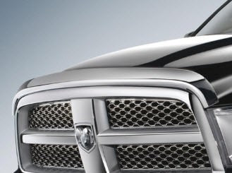 RAM 1500 FRONT AIR DEFLECTOR CHROME