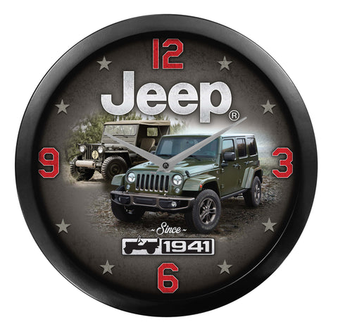 Since 1941 Jeep Clock