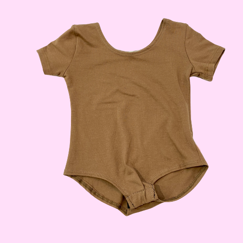 Copy of Solid Heather Gray T-Shirt Bodysuit
