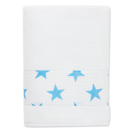 Aden + Anais Fluro Blue Toddler Towel - Belle Bellina  - 1