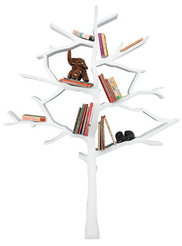 Nursery Works Snow Tree Bookshelf - Belle Bellina  - 1