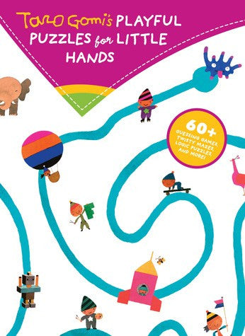 Taro Gomi's Playful Puzzles for Little Hands: 60+ guessing games, twisty mazes... - Belle Bellina