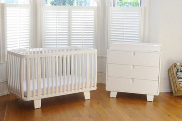 Bloom Retro Crib Coconut White - Belle Bellina  - 2