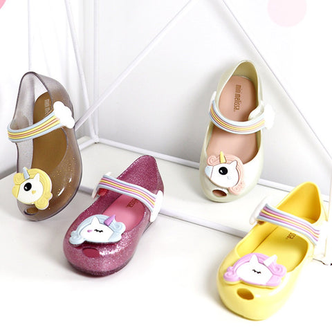 PREORDER SS18 Mini Melissa Ultragirl Unicorn Slippers