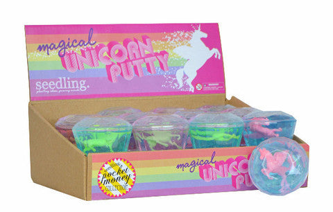 Magical Unicorn Putty - Belle Bellina  - 1