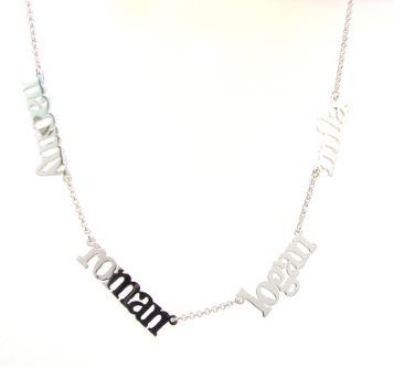 Custom Name Necklace - Belle Bellina  - 4