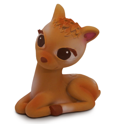 Olive The Deer Bambi Teether Baby Toy - Belle Bellina