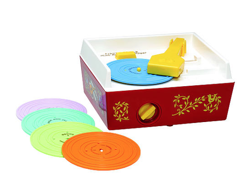 Fisher Price Classic Record Player - Belle Bellina