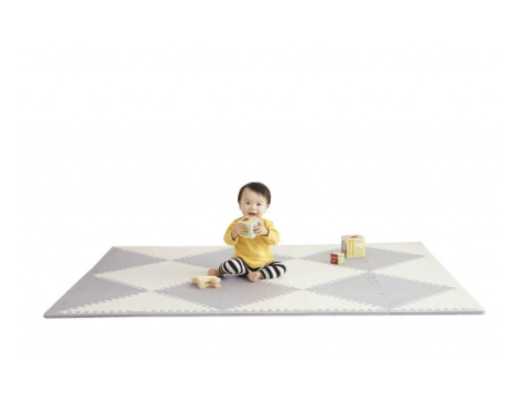 Skip Hop PLAYSPOT Geo Foam Floor Tiles Playmat - Belle Bellina  - 2