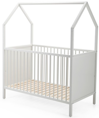 Stokke Home Crib-Hazy Grey - Belle Bellina  - 1