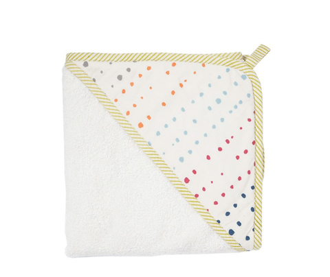 Petit Pehr Painted Dots Hooded Towel - Belle Bellina