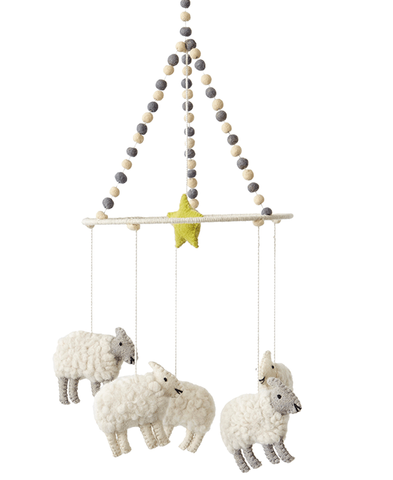 Petit Pehr Counting Sheep Mobile - Belle Bellina