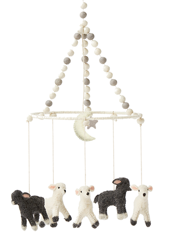 Little Lamb Mobile - Belle Bellina