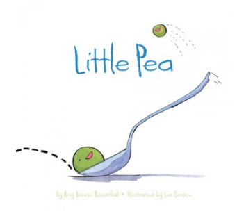 Little Pea By Amy Krouse Rosenthal, Illustrated by Jen Corace - Belle Bellina