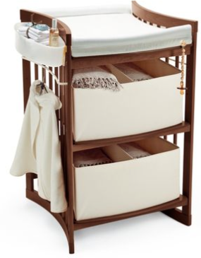 Stokke Care Changing Table-Walnut - Belle Bellina  - 1