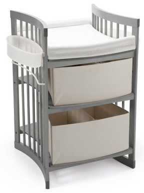 Stokke Care Changing Table-Storm Grey - Belle Bellina  - 1
