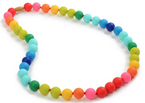 Chewbeads Christopher Necklace Rainbow - Belle Bellina