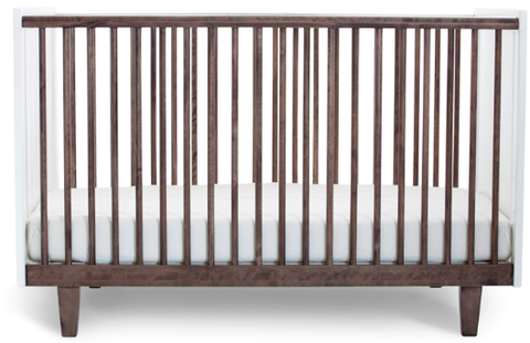Rhea Crib in Walnut - Belle Bellina  - 1