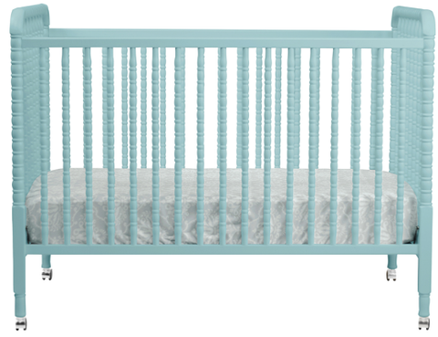 Jenny Lind Crib w/ Toddler Rail - Belle Bellina  - 1