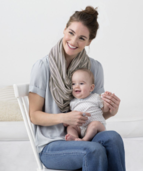 Grab & Go Hide & Chic Nursing Scarf - Belle Bellina  - 4
