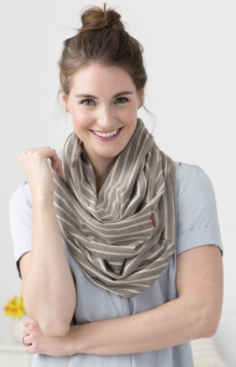 Grab & Go Hide & Chic Nursing Scarf - Belle Bellina  - 3