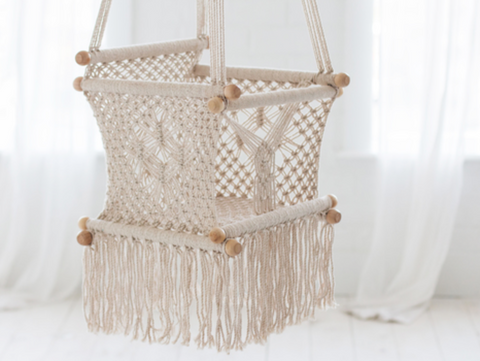 Baby Knitted Swing (PRE-ORDER) - Belle Bellina